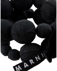 Marni - Black Bracelet - Lyst