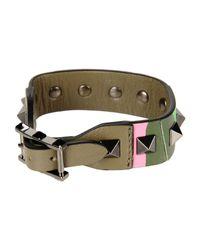 Valentino - Green Bracelet - Lyst