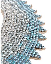 Valentino   Blue Crystal Necklace   Lyst
