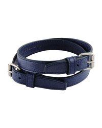 Balenciaga - Blue Bracelet - Lyst