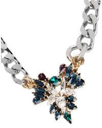 Anton Heunis - Blue Necklace - Lyst