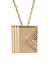 KENZO - Metallic Necklace - Lyst