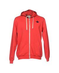 Macchia J - Red Sweatshirt for Men - Lyst