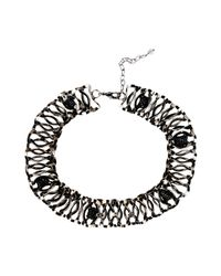 First People First - Black Necklaces - Lyst