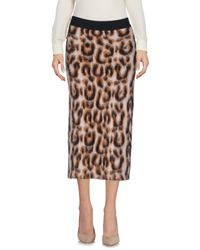 Marco Bologna - Natural 3/4 Length Skirt - Lyst