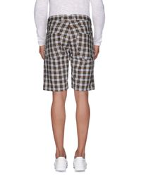 Berna - Brown Bermuda Shorts for Men - Lyst