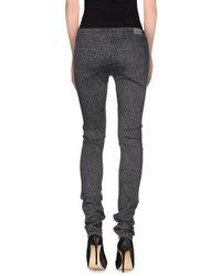 TRUE NYC - Black Casual Pants - Lyst