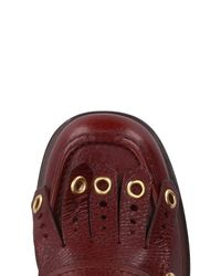 Car Shoe - Red Loafer - Lyst