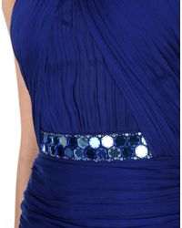 Matthew Williamson - Blue Long Dress - Lyst