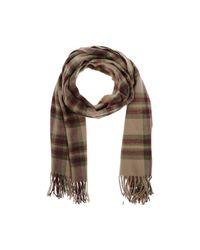 ONLY - Gray Scarf - Lyst