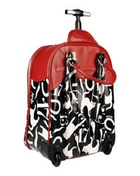 Moschino - Multicolor Wheeled Luggage - Lyst