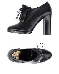 Lanvin - Black Lace-up Shoe - Lyst