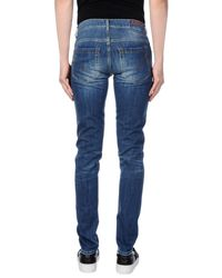 Dondup   Blue Denim Pants for Men   Lyst