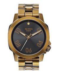 Nixon - Metallic Wrist Watch for Men - Lyst