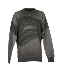 DIESEL - Gray Sweatshirt for Men - Lyst