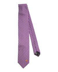 Versace - Purple Tie for Men - Lyst