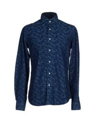 Xacus - Blue Shirts for Men - Lyst