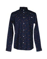 Jack & Jones - Blue Shirt for Men - Lyst