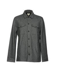 Club Monaco - Gray Jacket for Men - Lyst