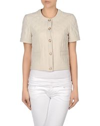 Boutique Moschino - Natural Blazers - Lyst