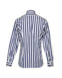 Guglielminotti - Blue Shirt for Men - Lyst
