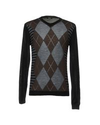 CoSTUME NATIONAL - Brown Sweaters for Men - Lyst