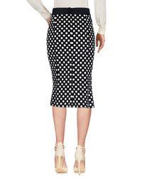 Dolce & Gabbana | Black Polka Dot Skirt | Lyst