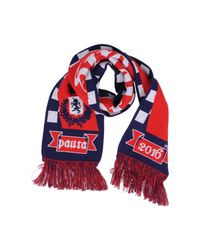 Paura - Red Oblong Scarf for Men - Lyst