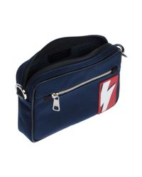Neil Barrett - Blue Cross-body Bags for Men - Lyst