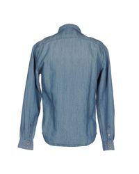 Pepe Jeans - Blue Denim Shirt for Men - Lyst