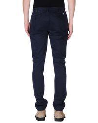 Romano Ridolfi - Blue Casual Trouser for Men - Lyst