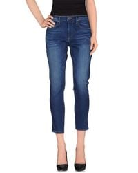True Religion - Blue Denim Pants - Lyst