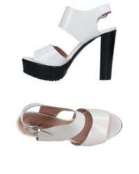 Tipe E Tacchi - White Sandals - Lyst
