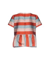 RED Valentino - Pink Blouses - Lyst