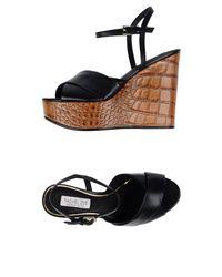Rachel Zoe - Black Sandals - Lyst