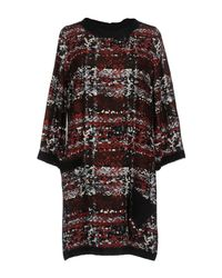 Fontana Couture - Black Short Dress - Lyst
