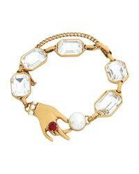 Marc Jacobs - Metallic Bracelet - Lyst