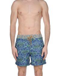 Maaji - Blue Swimming Trunks for Men - Lyst