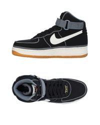 Nike - Black High-tops & Sneakers for Men - Lyst