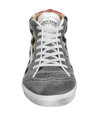 Primabase - Gray High-tops & Sneakers for Men - Lyst