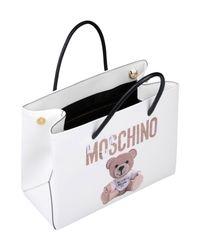Moschino - White Handbag - Lyst