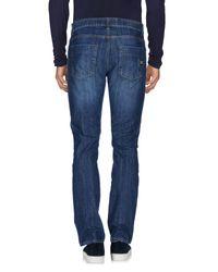 Bikkembergs | Blue Denim Pants for Men | Lyst