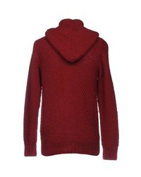 Heritage - Red Cardigan for Men - Lyst