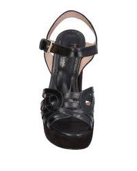 Maria Cristina - Black Sandals - Lyst