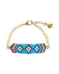 Shourouk - Blue Bracelet - Lyst