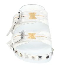 Ash - White Sandals - Lyst