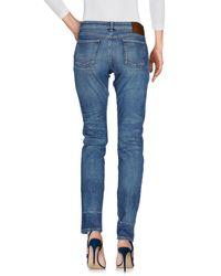 Gucci - Blue Denim Pants - Lyst