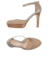Lella Baldi - Natural Sandals - Lyst