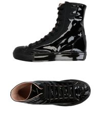 Pinko   Black High-tops & Sneakers   Lyst