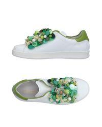 Pokemaoke - White Low-tops & Sneakers - Lyst